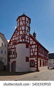 The old townhall of Worth in Lower Franconia, Bavaria, Germany