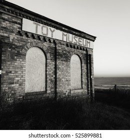 The old Toy Museum located above Longsands Beach, Tynemouth in the UK.