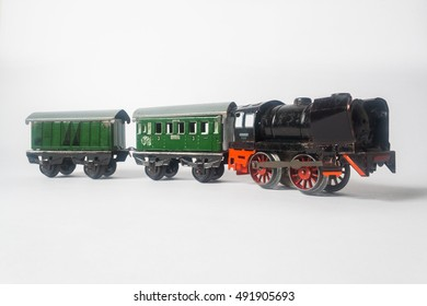 Old toy train wagons