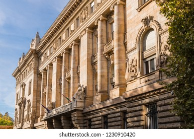 Old Traditional Architectural Building in Budapest Hungary