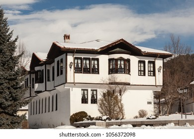 Old traditional Bulgarian house in Kalofer, Bulgaria