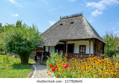 Old traditional house from Golesti, Stefanesti Arges County