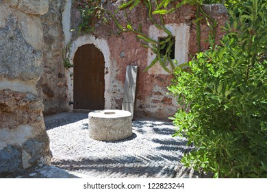 Old traditional settlement at Zakros village of Crete island in Greece.