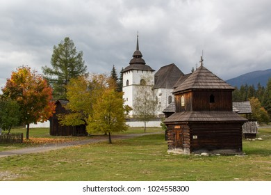 Old traditional Slovakian village