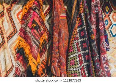 old traditional Turkish carpet shop in cappadocia, turkey