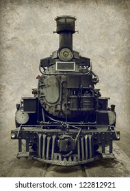 Old train - locomotive