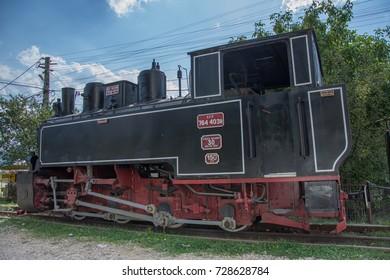 Old  Train. near Sucevita Monastery, Romania,2017