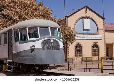 old train and station