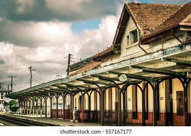 Old train station in santa clara cuba
