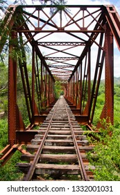 Old train's bridge