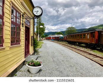 An old trainstation in Norway