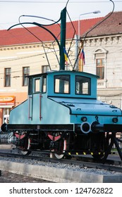 Old tramway of Oradea, celebrating 150 of technical innovation in Oradea, Electric Locomotive Siemens