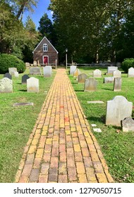 Old trinity church and cemetery