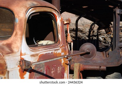 Old truck, Jerome, Arizona, USA