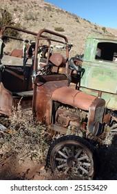 Old trucks, Jerome, Arizona, USA