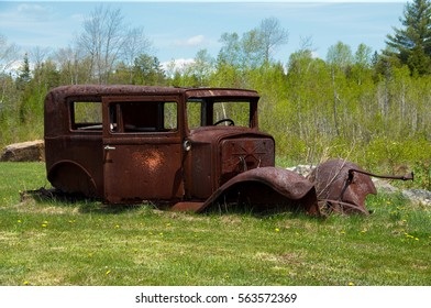 Old trusted truck with bullet holes