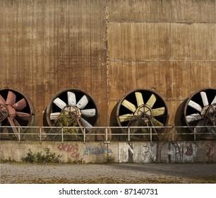 Old turbines