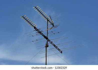Old TV Antennae