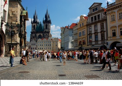 The Old Twon Square, Prague