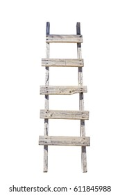 Old Wooden Ladder Images Stock Photos Vectors Shutterstock