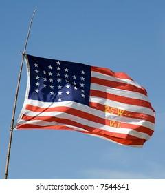 Old US Flag