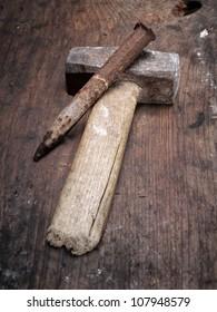 Stonemason Hammer Images, Stock Photos & Vectors   Shutterstock