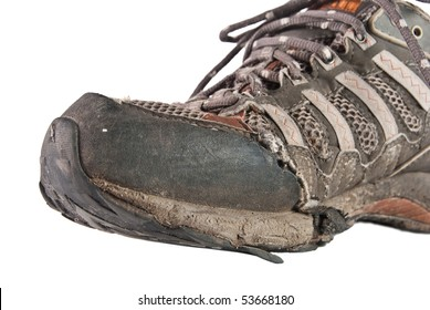 old used shoe