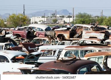 Black Hills Old Cars Yard
