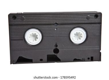 old VHS cassete close-up