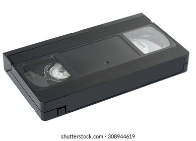 Old VHS video cassette tape