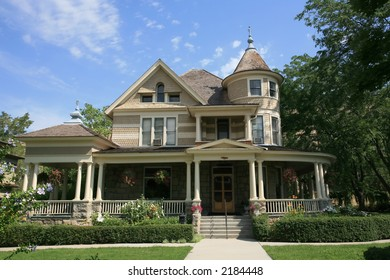Old victorian house.