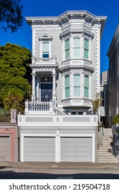 Old victorian house in San Francisco