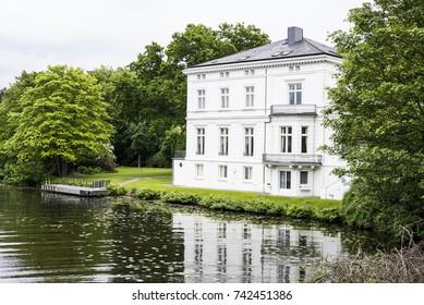 Old villa in Hamburg, Germany