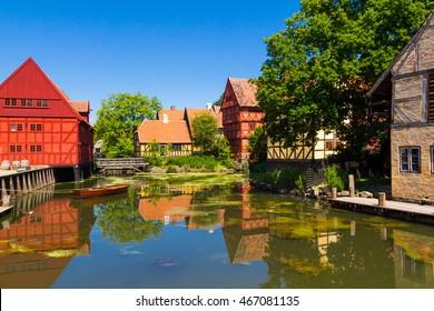 The old village in Aarhus
