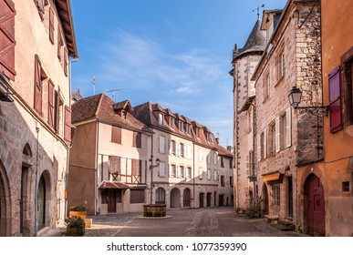 old village of Beaulieu-sur-Dordogne in new Aquitaine, France