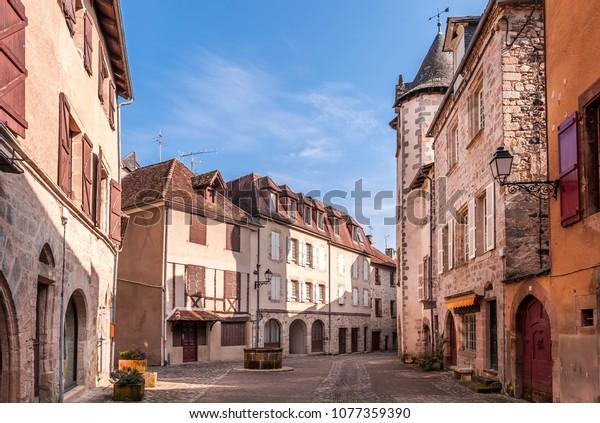 old village of Beaulieu-sur-Dordogne in new Aquitaine, France