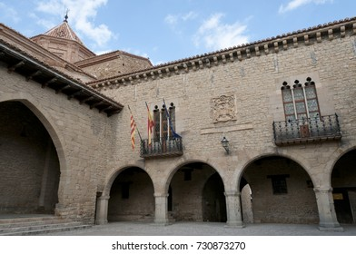 Old village of Cantavieja in the Maestrazgo, Teruel, Spain