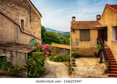 old village near Le Castellet , cote d azur