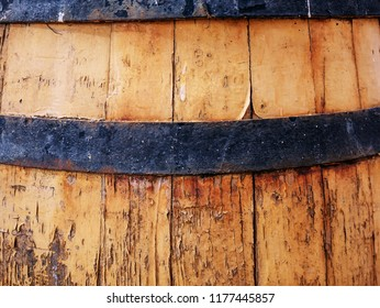 Old vintage barrel