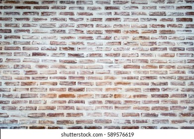 Old vintage brick wall with copy space, can be used for display or montage your products.
