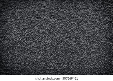 Old vintage brown leather texture closeup for background