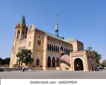 old vintage building frere hall in Karachi sindh Pakistan 12/18/2019