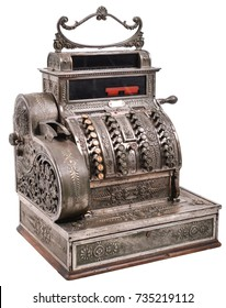 Old Vintage Cash Register