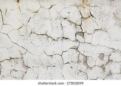 Old vintage crack wall