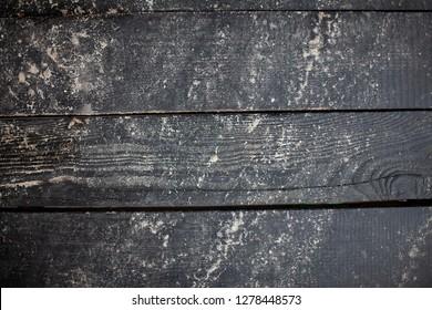 Old, vintage dirty floorboards