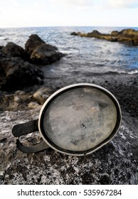 Old Vintage Diving Mask l Near The Atlantic Ocean