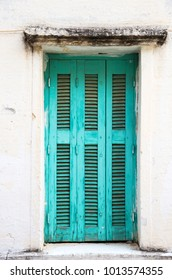 Old vintage door in Crete in Greece.