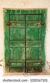 Old vintage door in Crete in Greece.