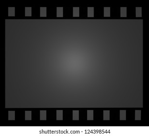 Old vintage filmstrip background with space for your text or image