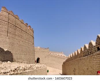 old vintage fort kot degi Sign of king kalhora sindh pakistan  12/16/2019